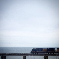 Train Over the Water, Bay St. Louis, Mississippi, 2014