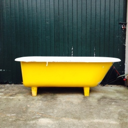 Yellow Bathtub, Houston, Texas, 2013
