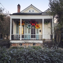 House with Flowers, New Orleans, Louisiana, 2014
