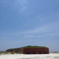 Fort Massachusetts, West Ship Island, Mississippi, 2014