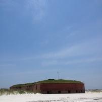 Fort Massachusetts, West Ship Island, Mississippi, 2014