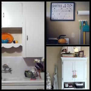 My adorable kitchen in all of its adorable adorableness.