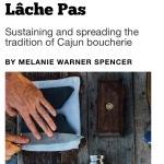 Cajun boucherie story for Acadiana Profile Magazine