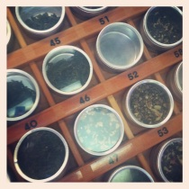 Loose tea at Path of Tea on